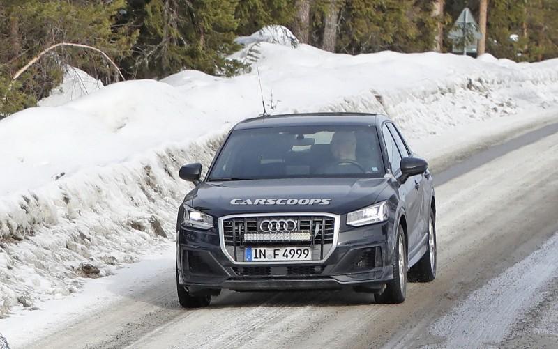 Audi SQ2 этой осенью заставит потесниться горячие хэтчбеки