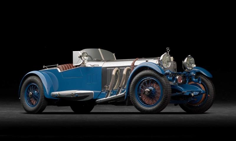 Звездный 1929 Mercedes с лодочным «хвостом» приедет на Конкурс элегантности