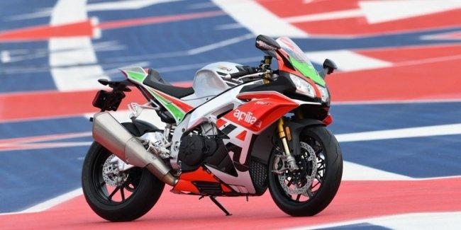 Эксклюзивный мотоцикл Aprilia RSV4 RF LE — всего 125 экземпляров