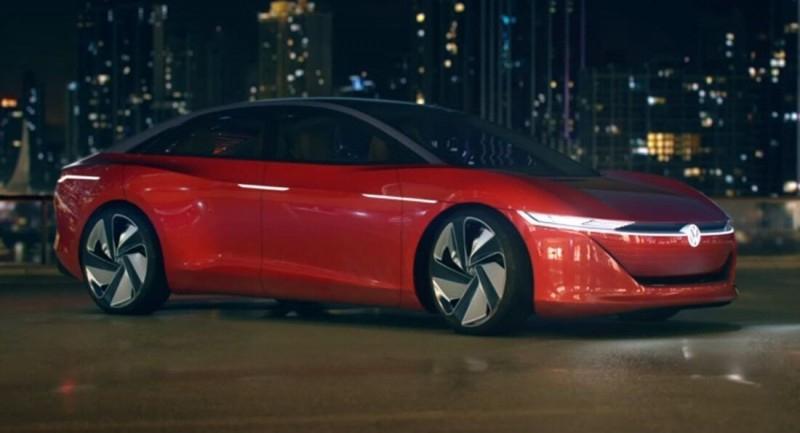 Концепт Volkswagen ID Vizzion едет покорять китайцев [видео]