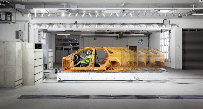Volkswagen открыл новый испытательный центр