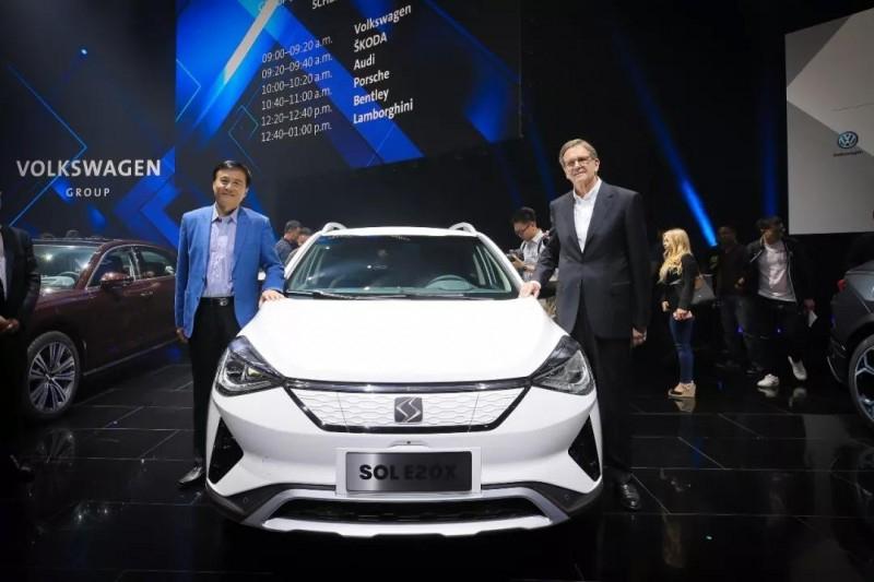 Volkswagen запустил в Китае новый бренд SOL