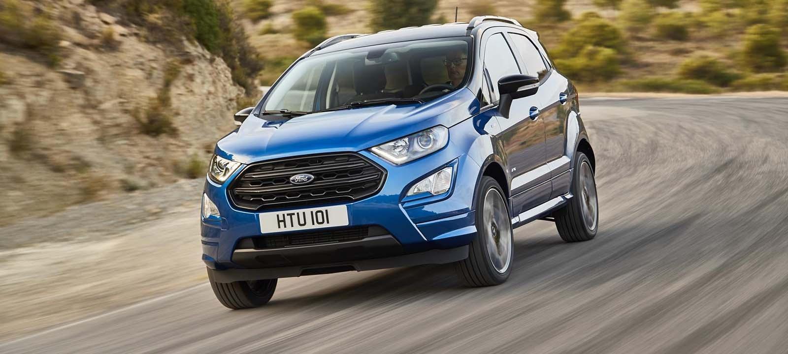 Тест Ford EcoSport 2018: свежая внешность и совершенно новый интерьер