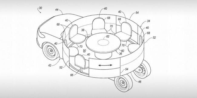 Ford придумал салон-карусель