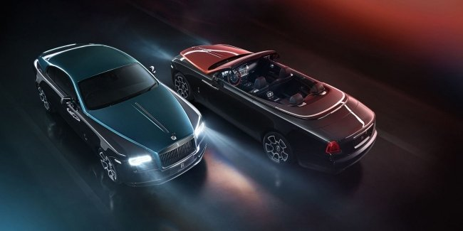 Rolls-Royce представил особые версии Wraith и Dawn