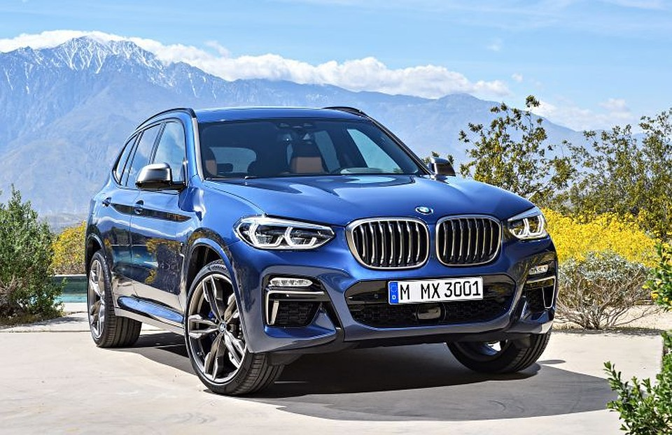Новый BMW X3 на внедорожном тесте в украинских Карпатах