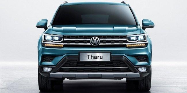 Volkswagen рассекретил бюджетный кроссовер Tharu