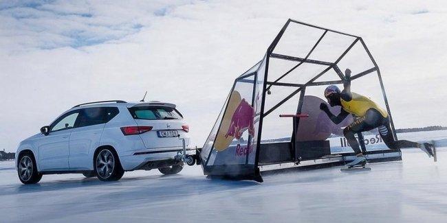 Seat помог конькобежцу установить рекорд скорости
