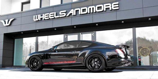 Тюнер Wheelsandmore доработал Bentley Continental 24