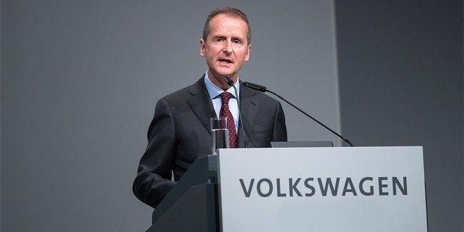 Новый глава Volkswagen дал показания по «дизельгейту» властям США