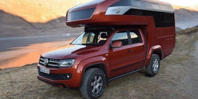 Самый необычный Volkswagen Amarok — с кузовом из карбона