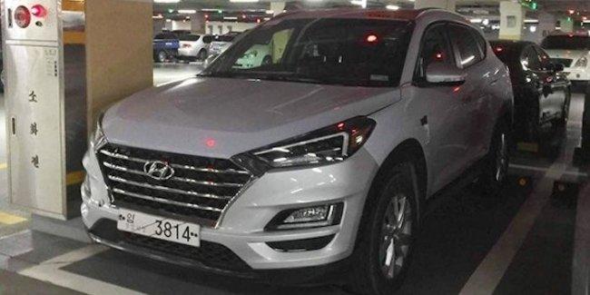 Новинка Hyundai Tucson 2019 засняли во всей красе на дорогах