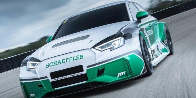 Audi RS3 превратили в 1200-сильный электрический суперкар