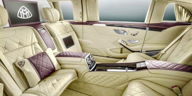 Автомобили Mercedes и Maybach получат украинские сиденья