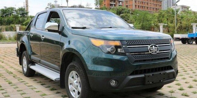 В Китае создали пикап в стиле Ford Explorer