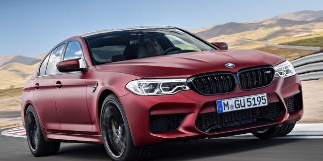 BMW M5 Competition: официальные характеристики