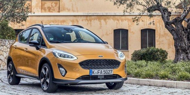 Новый Ford Fiesta Active уже в Европе: названы цены и комплектации