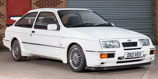 С аукциона продадут самый первый Ford Sierra RS500 Cosworth