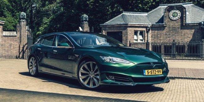 В Нидерландах выпустили электрический универсал на базе Tesla