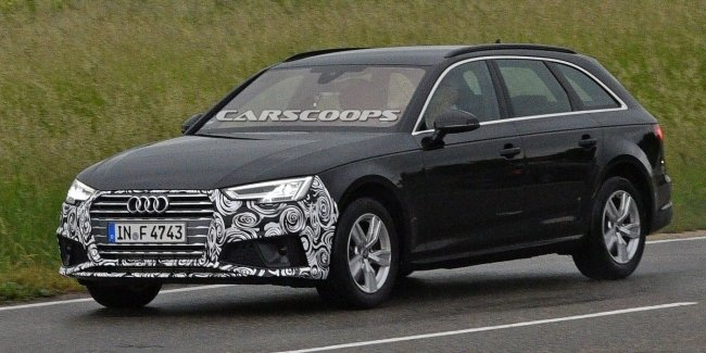 Новый Audi A4 рассекретили раньше времени