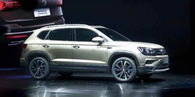 В линейке VW появился кроссовер Tharu