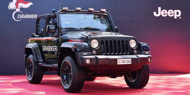 Итальянская полиция получила Jeep Wrangler для патрулирования пляжей