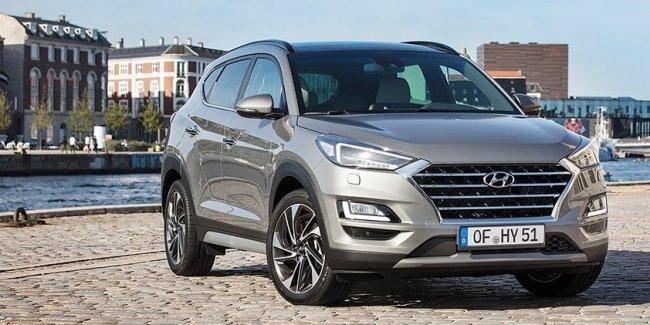 Hyundai Tucson стал дизель-электрическим «умеренным гибридом»