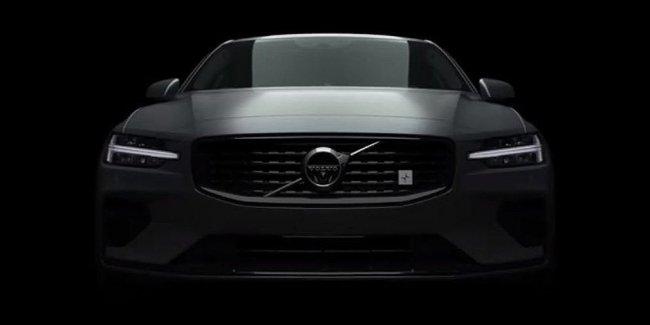 Volvo показала дизайн мощнейшей версии нового S60
