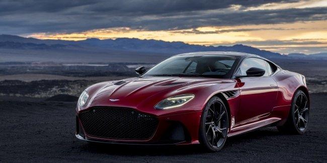 Aston Martin представил новый спорткар DBS Superleggera