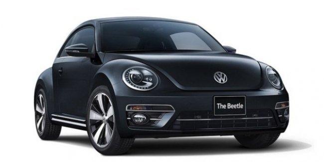 «Эксклюзивный» VW Beetle прощается с Японией
