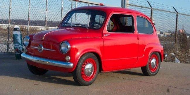 Водителям предложат уникальный Fiat 600 с роторным
