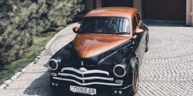 Украинец сделал машину мечты из ГАЗ М-20 «Победа» и BMW