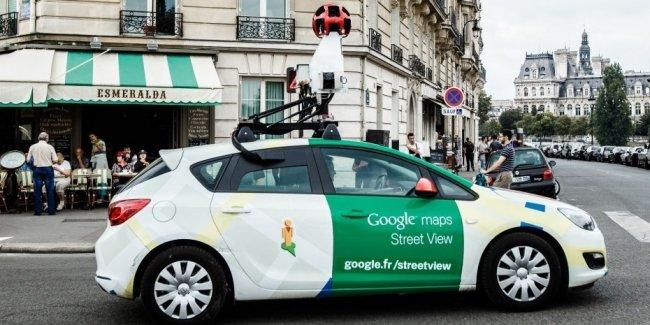 Автомобили Street View от Google будут следить за качеством воздуха