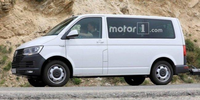 Новый Transporter впервые появился на фото