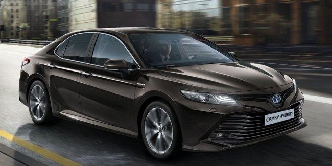Toyota Camry вернется в Европу после 14-летнего перерыва