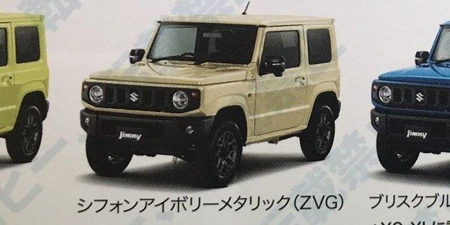 Свежая информация про новый Suzuki Jimny и его дебют