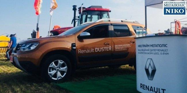 Официальный дилер Renault «НИКО Прайм Мегаполис» на выставке Международные дни поля в Украине