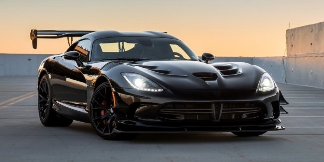 Dodge отказался возрождать суперкар Viper