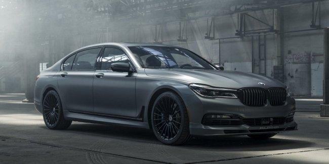 BMW выпустил уникальный седан