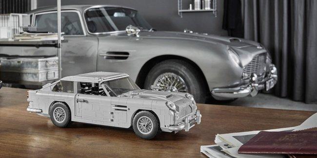 Lego представила копию автомобиля Джеймса Бонда