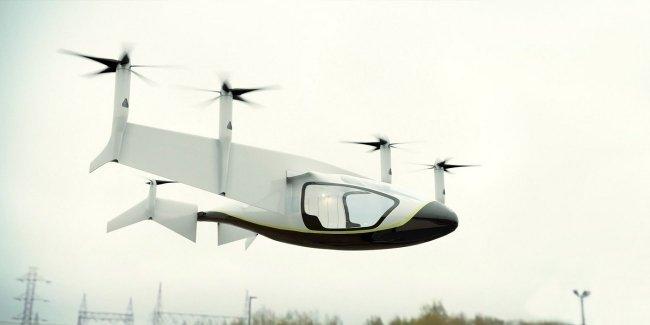 Rolls-Royce представил летающее такси