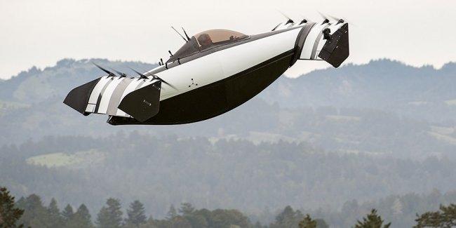 В США сделали «летающую машину» с вертикальным взлетом