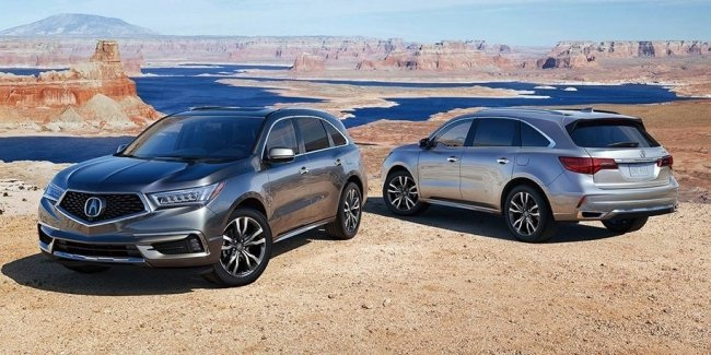 Acura улучшила семиместный кроссовер MDX
