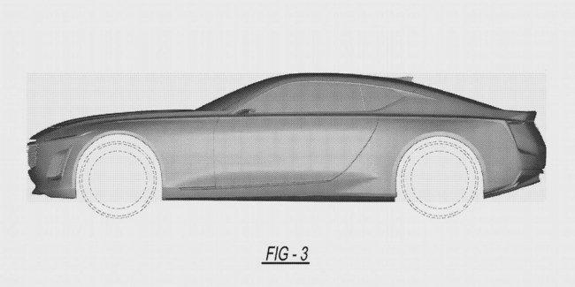 Cadillac запатентовал роскошное купе
