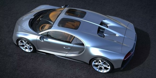 Bugatti сделала для «Широна» панорамную крышу