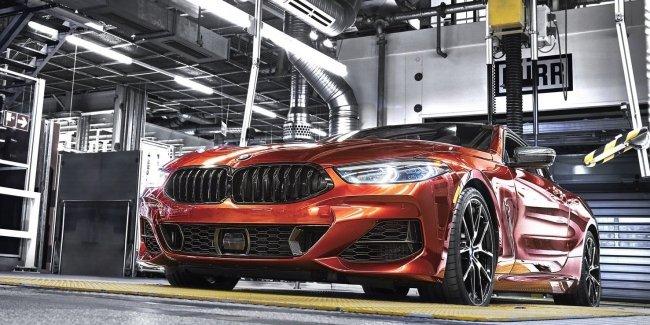 Компания BMW запустила производство нового купе 8 серии
