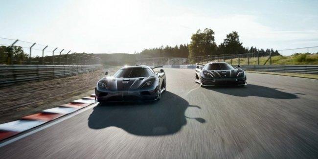 Koenigsegg показал два последних быстрейших гиперкара в мире