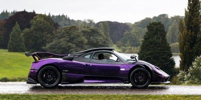 Хэмилтон назвал Pagani Zonda машиной с ужасной управляемостью