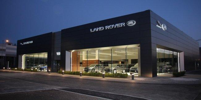 Открытие нового дилерского центра «Jaguar Land Rover Киев Запад»