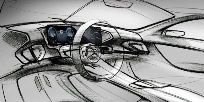 Появились изображения интерьера нового Mercedes-Benz GLE
